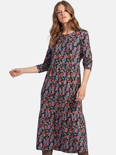 MYBC - La robe en jersey à imprimé fleuri