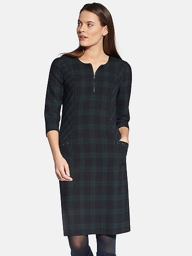 Basler - Dress with checked designs