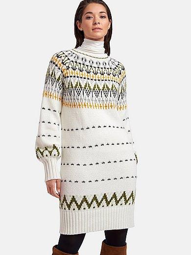 MYBC - Gebreide jurk met wijde lange mouwen