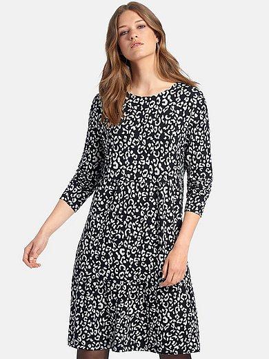 MYBC - La robe en jersey à imprimé léopard