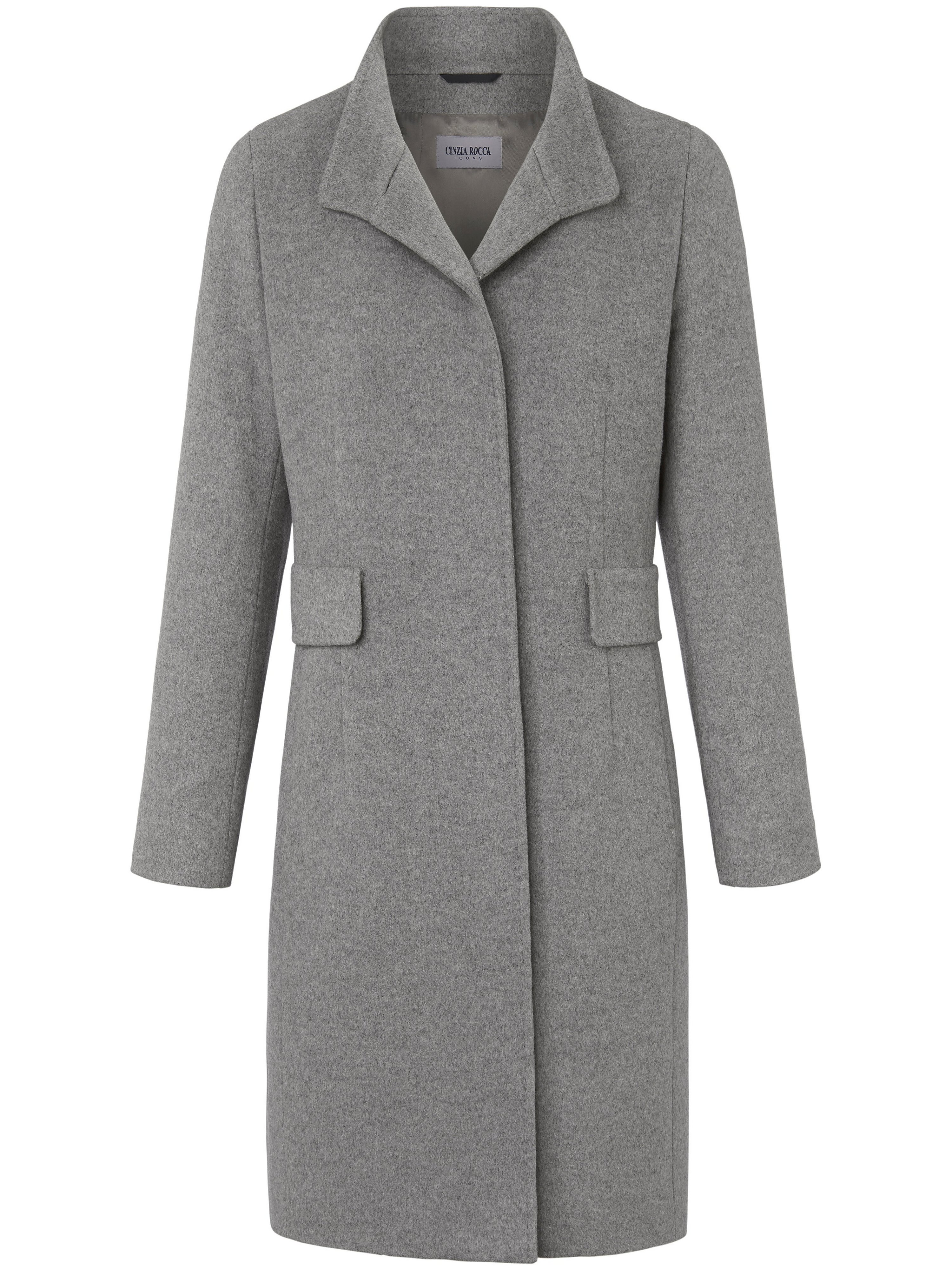 Le manteau  Cinzia Rocca Icons gris taille 50