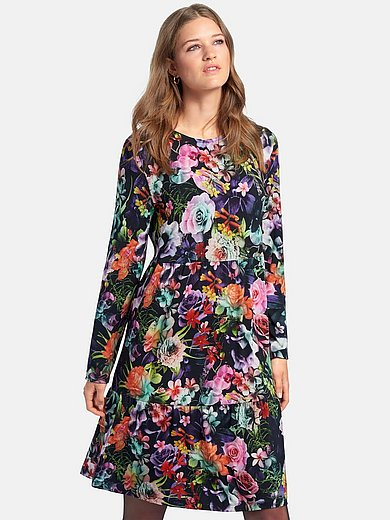 MYBC - Jersey dress with long sleeves
