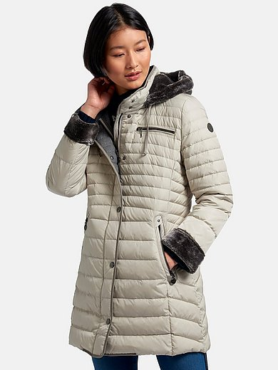Gil Bret - Quilted down jacket with hood