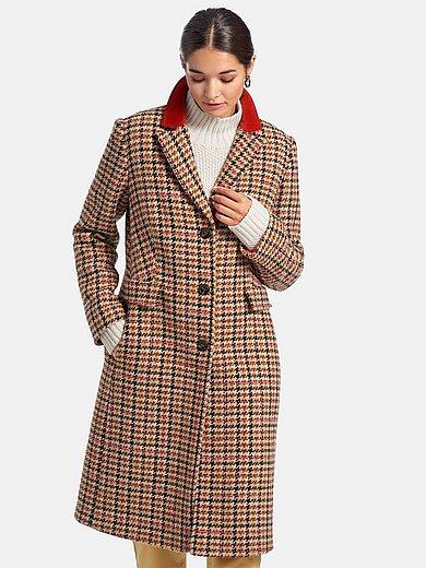 Rofa - Le manteau 3/4 en drap de laine