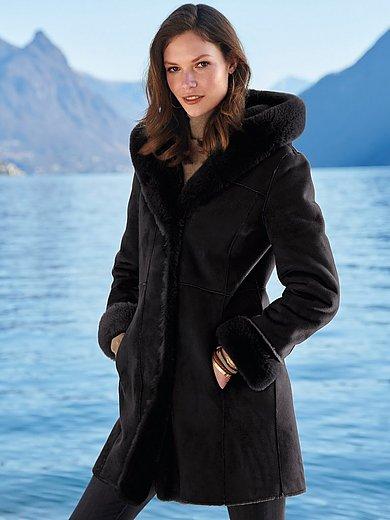 Milestone - Jacket in lambskin look