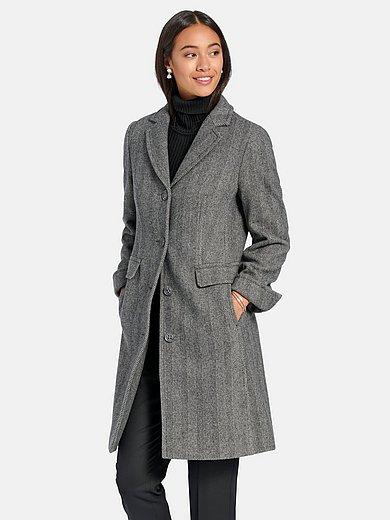 Peter Hahn - Le manteau court 100% laine vierge
