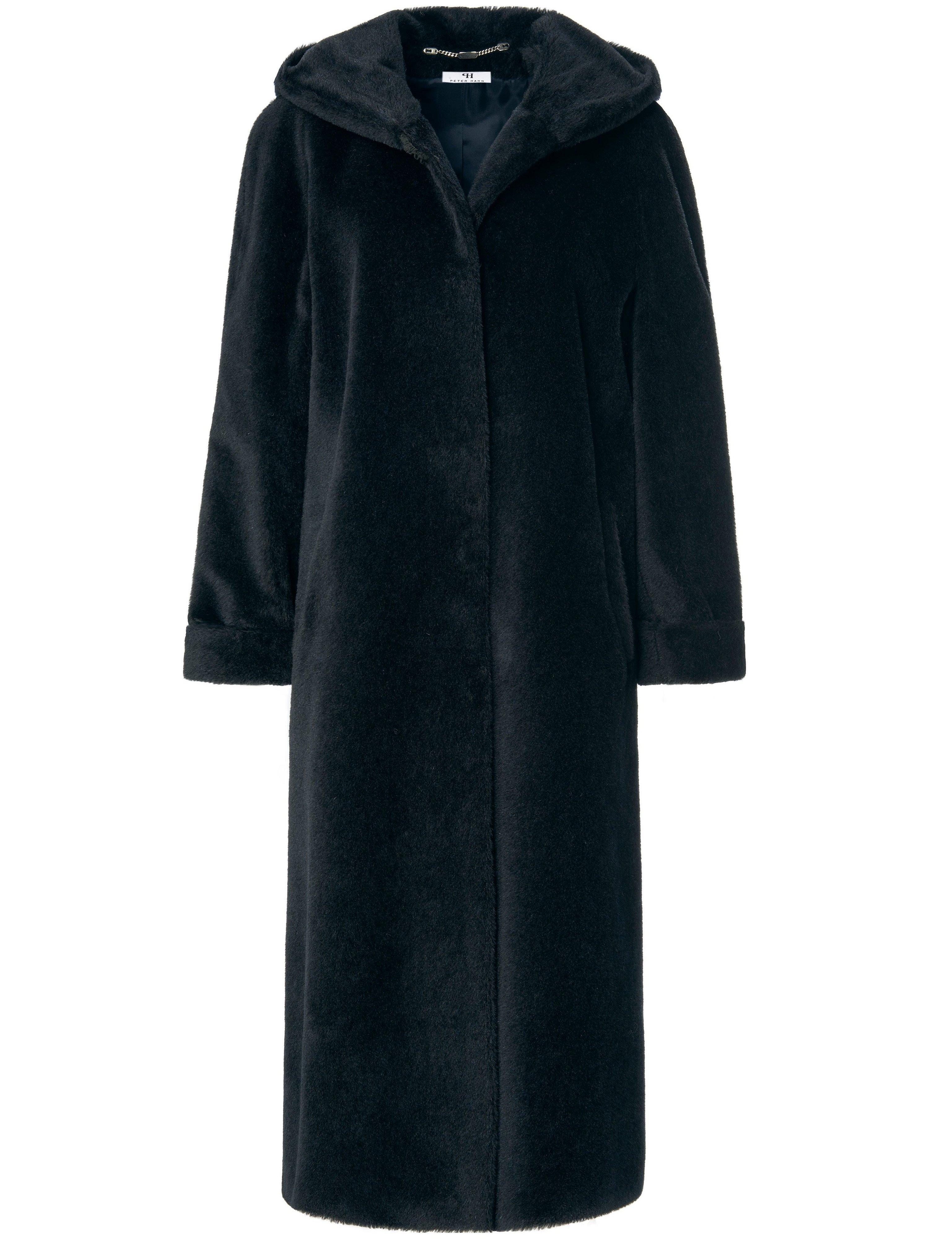 Le manteau  Peter Hahn noir taille 50