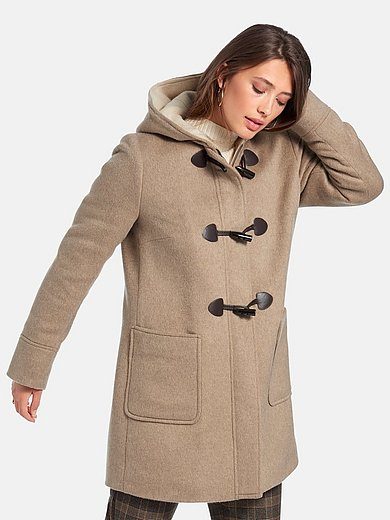 Gil Bret - Duffel coat with grown-on hood