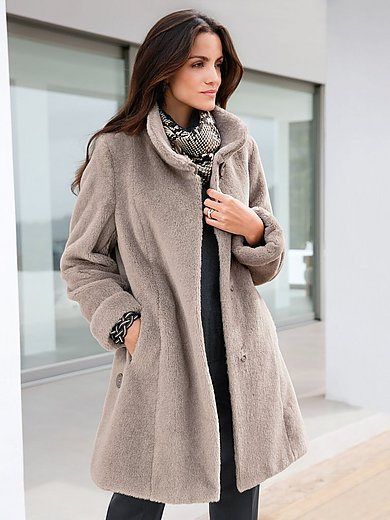 Peter Hahn - Coat in alpaca and mohair