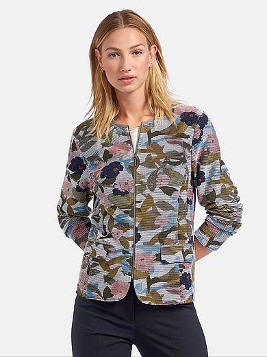 Rabe - Jersey jacket with long sleeves