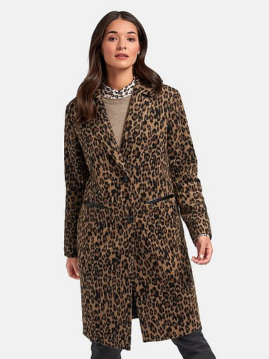 MYBC - Coat with leopard print