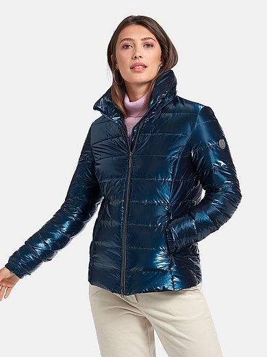 Green Goose - Shiny jacket with stand-up collar