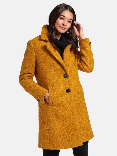 Manisa - Knee-length coat with button fastening
