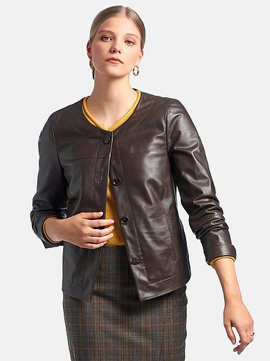 Fadenmeister Berlin - Nappa leather jacket in shorter length