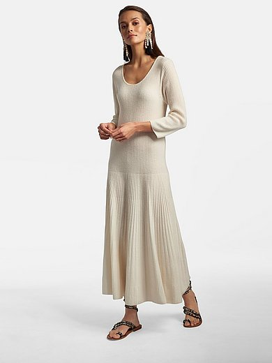 Laura Biagiotti Roma - Knitted dress in 100% cashmere