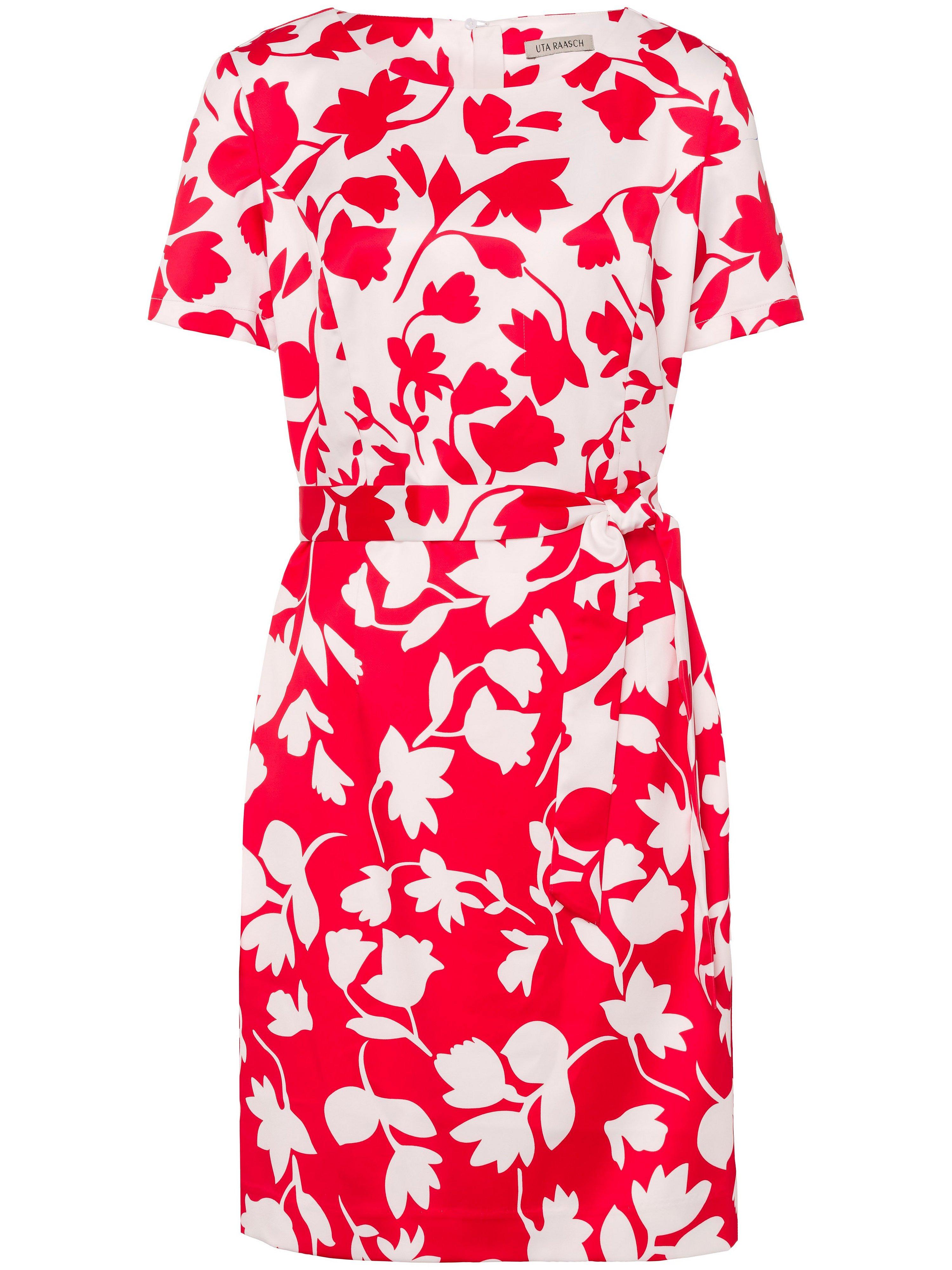 Summer dress short sleeves Uta Raasch red