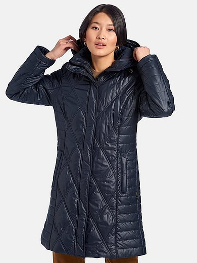 Fuchs & Schmitt - Quiltet frakke med rudeternet quiltmønster