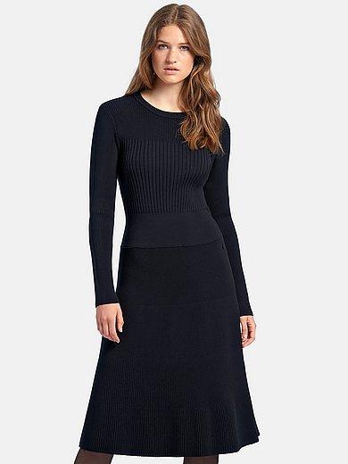 MAERZ Muenchen - Stickad klänning med långa ärmar
