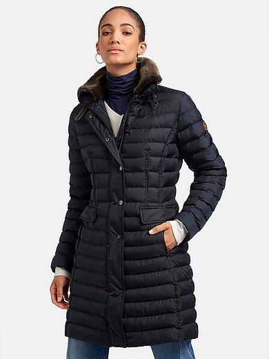 Fuchs & Schmitt - Lang quiltet jakke med ståkrave