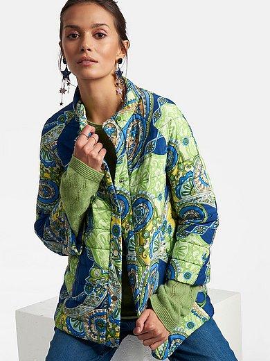 Laura Biagiotti Roma - Quiltet jakke med 7/8-ærmer