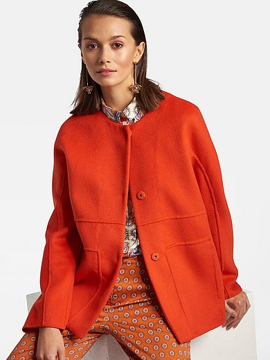 Laura Biagiotti Roma - Jacket with round neckline