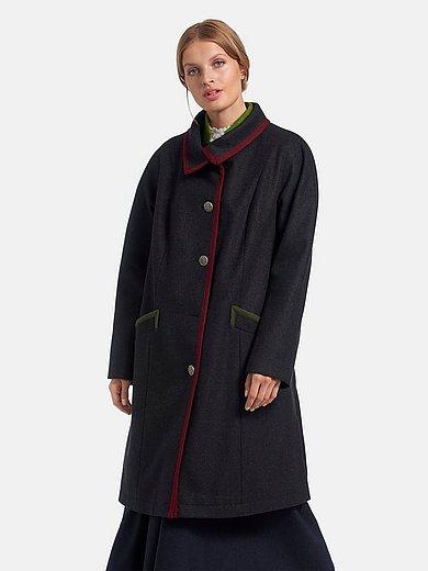 Peter Hahn - Le manteau avec boutons imitation laiton patiné