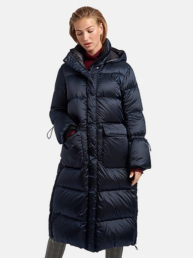 Milestone - Quilted down coat with stand-up collar