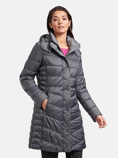 Fuchs & Schmitt - Quilted coat with detachable hood