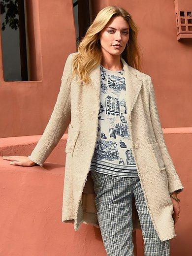 Riani - Lange blazer in zomerse premium-kwaliteit