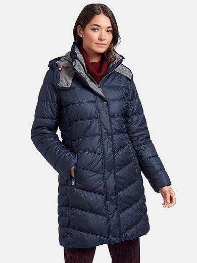 Fuchs & Schmitt - La veste longue matelassée à capuche amovible