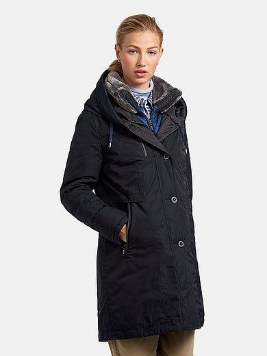 Gil Bret - La veste longue matelassée à capuche