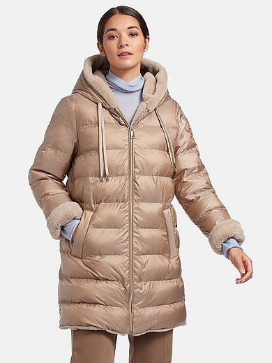 Milestone - Quilted jacket with hood