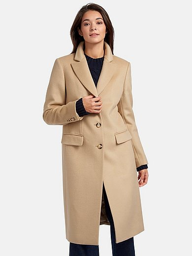 Peter Hahn - Coat in 100% new milled wool