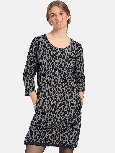 Margittes - La robe en jersey manches 3/4