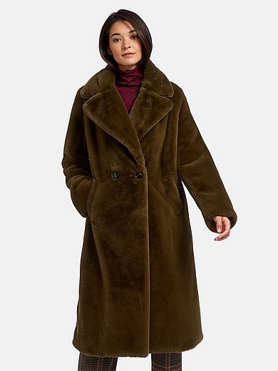 Riani - Frakke i imiteret pels