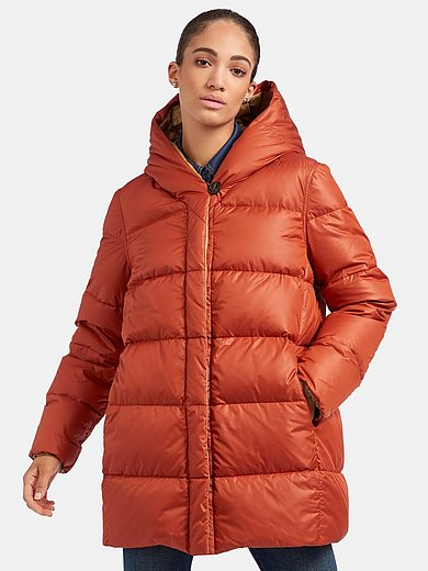Schneiders Salzburg - Reversible quilted down jacket with hood