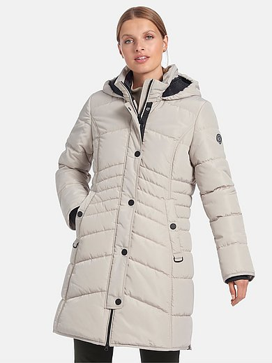 Betty Barclay - Quilted jacket with zip-off hood