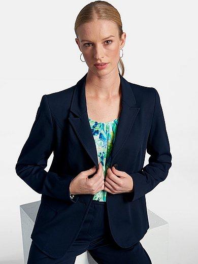 Basler - Jersey blazer with revere collar