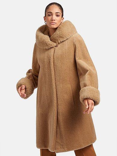 Peter Hahn - Le manteau 3/4 en poil de lama