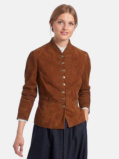 Schneiders Salzburg - La veste en cuir velours de chevreau