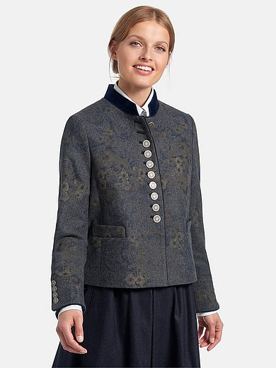 Schneiders Salzburg - Jacket with stand-up collar made of velvet