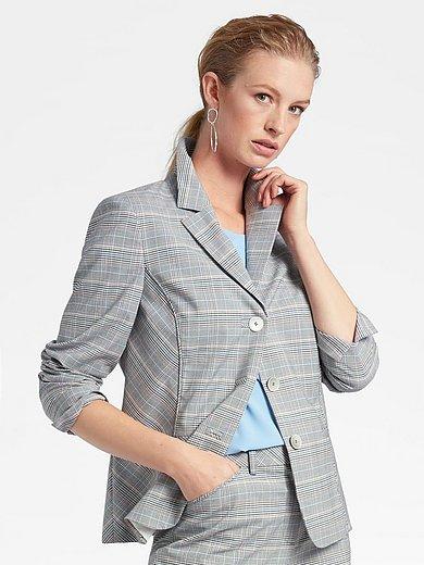 Basler - Blazer with 2 trimmed pockets and slit sleeves