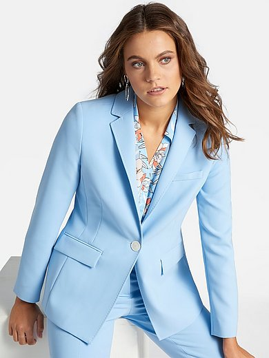 Basler - Le blazer long col tailleur