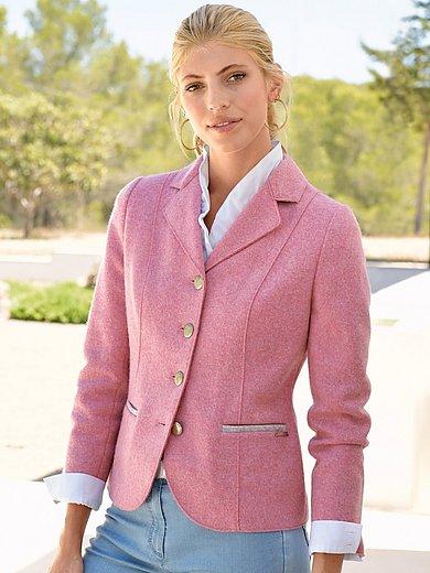 Giesswein - Le blazer en laine foulée à boutons en métal