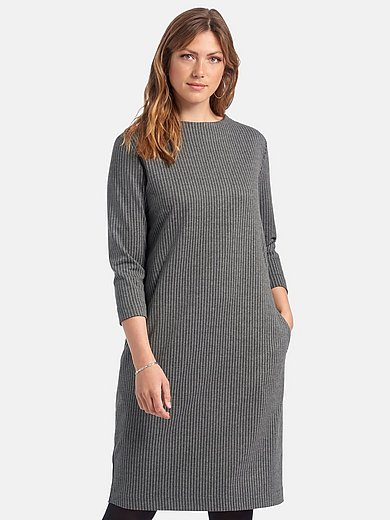 Via Appia Due - Jersey dress with 3/4-length sleeves