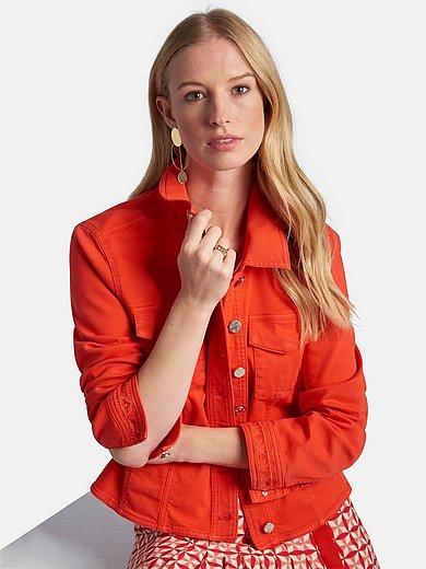 Basler - Denim jacket with embroidery