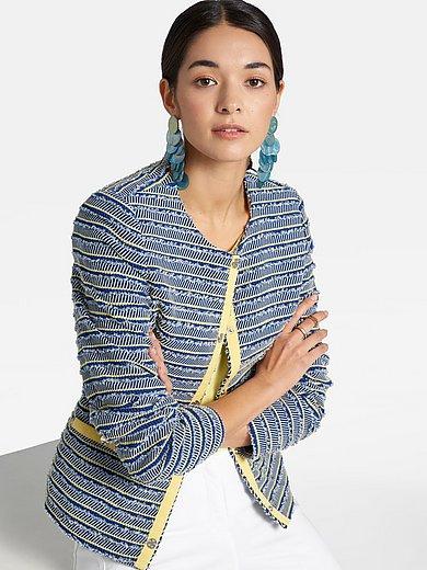 Basler - Jacket with textured stripes