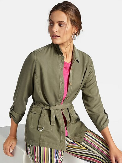 Basler - Shirt style jacket with safari look