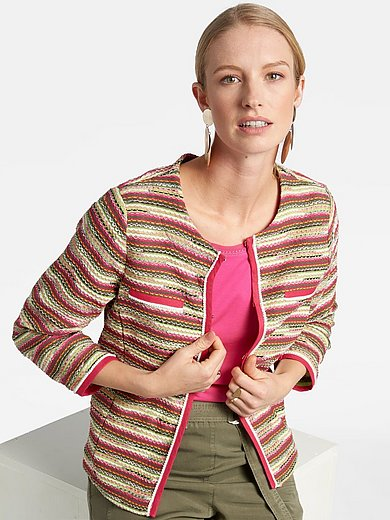 Basler - Knitted blazer with 7/8-length sleeves