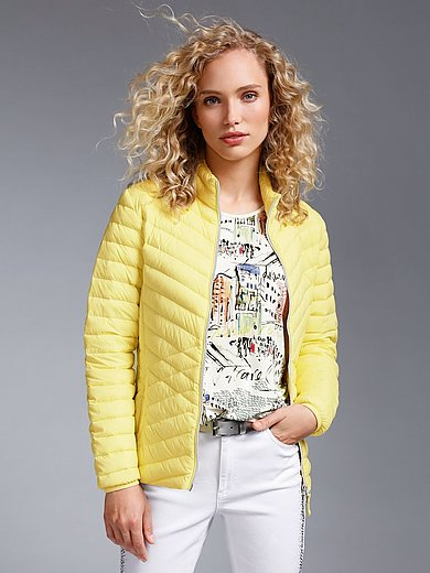 MYBC - Quilted down jacket with 2-way zip